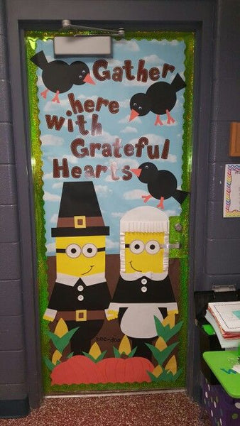 Thanksgiving door ideas for your classroom_6_Bored Teachers