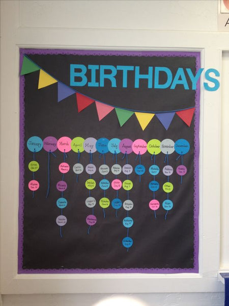 Birthday Calendar In Kindergarten : Awesome birthday board ideas for your classroom bored