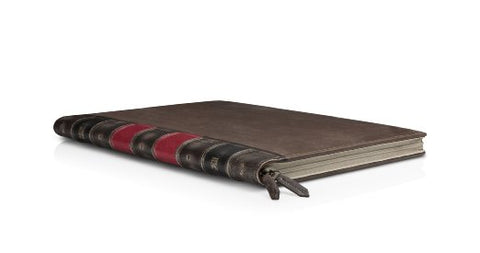 leather-bound book laptop case bored teachers