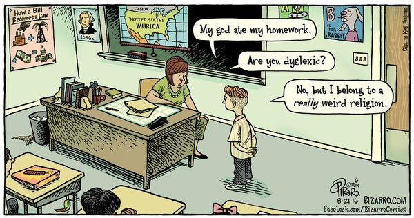 Bizarro teacher comics_Bored Teachers 28