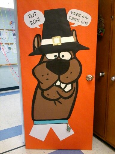 Thanksgiving door ideas for your classroom_4_Bored Teachers