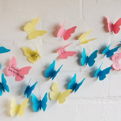butterfly sticky notes bored teachers 2