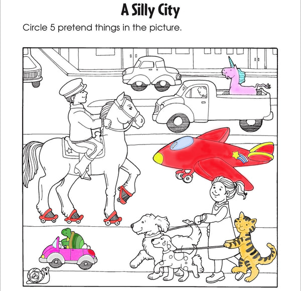 Scholastic Printables Silly City