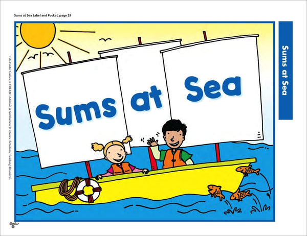 sums at sea scholastic printables 1