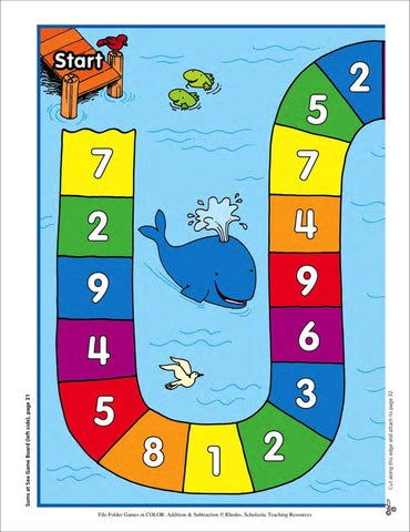 sums at sea scholastic printables 3