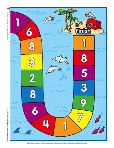 sums at sea scholastic printables 4