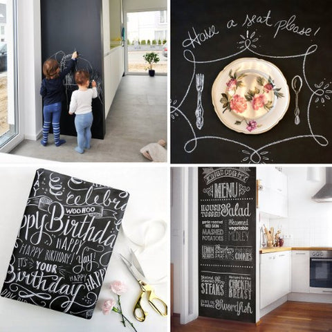 chalkboard wall decal bored teachers