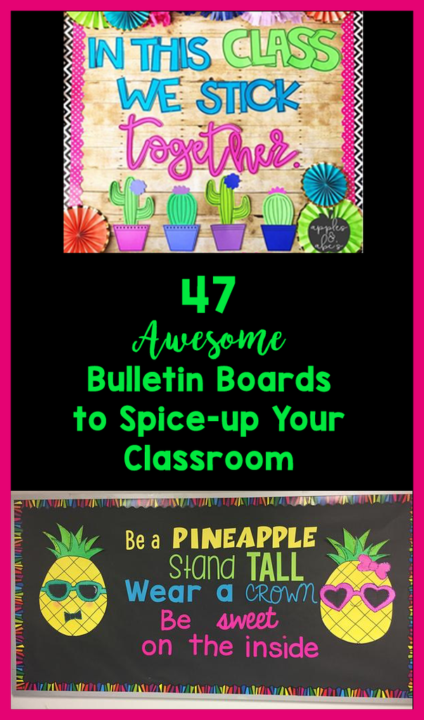 Back to School Bulletin Boards_featured image_Bored Teachers