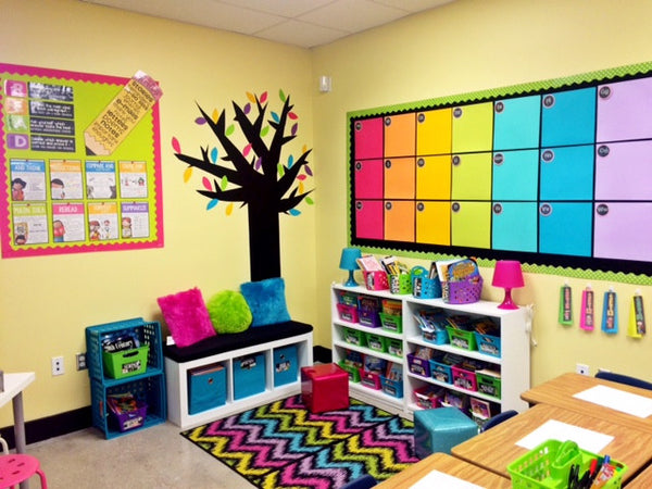Colorful Reading Corner : reading-corner-ideas - designwebi.com