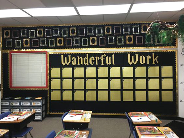 World History Classroom Decorations : Harry potter themed classrooms that ll blow you away u bored