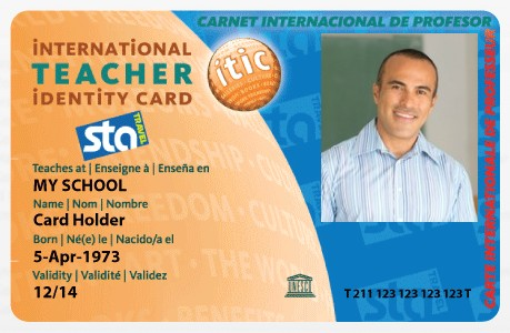 50 awesome places where teachers get special discounts for Teacher id card template