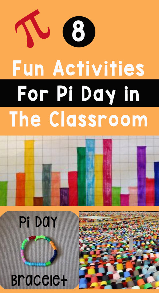 8 Fun Activities For Pi Day in The Classroom_Pinterest_Bored Teachers