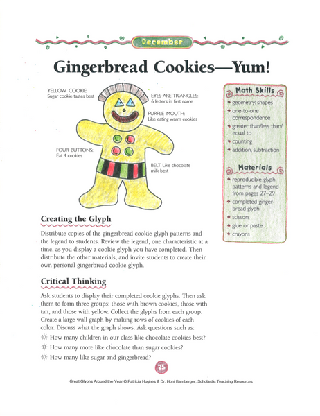 gingerbread cookie scholastic printables bored teachers