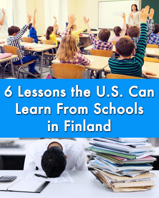 USA vs. Finland schools feature image - Bored Teachers