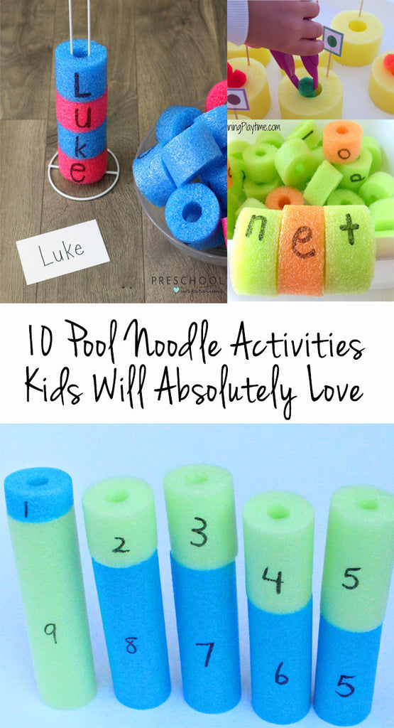 10 Pool Noodle Activities Kids Will Absolutely Love