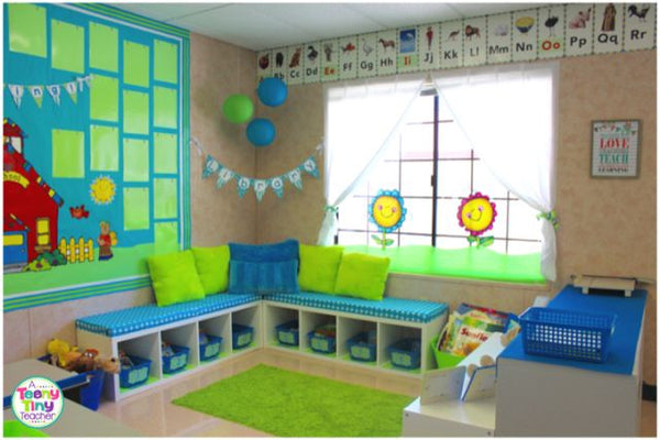 Classroom Library Decorating Ideas ~ Dreamy reading corner ideas your students will love