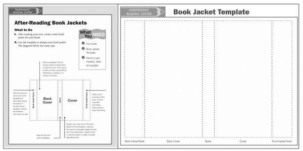 Book Dust Cover Template : Creative ideas to make students actually enjoy book
