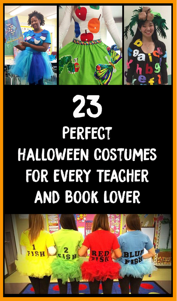 book lover Halloween costumes_feature image_Bored Teachers