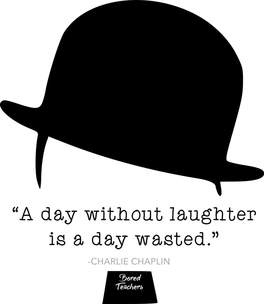 chaplin laughter quote
