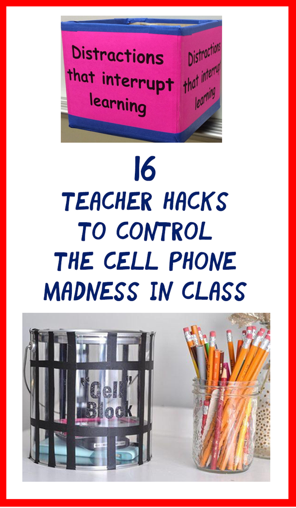 classroom cell phone jails_featured image_Bored Teachers