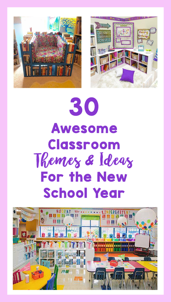 Awesome Classroom Decor ~ Awesome classroom themes ideas for the new school