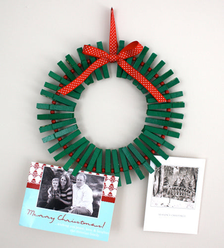 clothespin wreath bored teachers