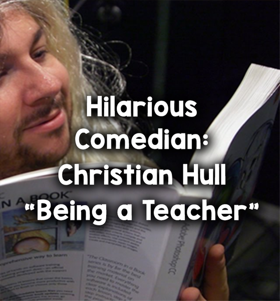 comedian being a teacher_feature image_Bored Teachers