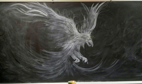 eagle chalkboard_art teacher_Bored Teachers