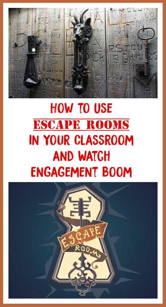 escape rooms in the classroom_feature image_Bored Teachers