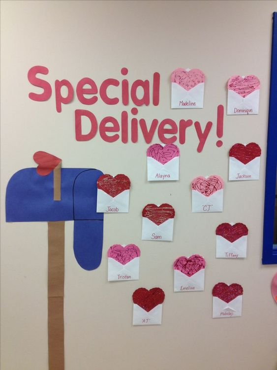Adorable Valentine's Day Doors for Your Classroom_6_Bored Teachers