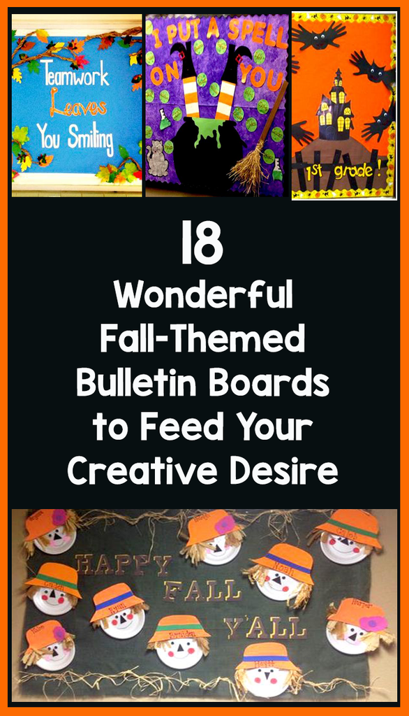 fall-themed bulletin Boards_featured image_Bored Teachers