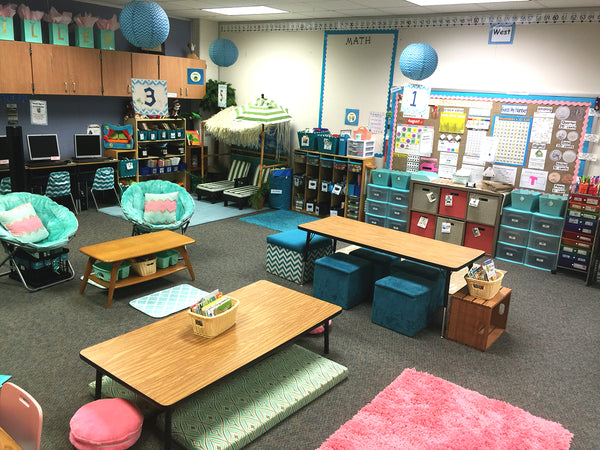 Inside Collaborative Classroom ~ Awesome flexible seating classrooms that ll blow your