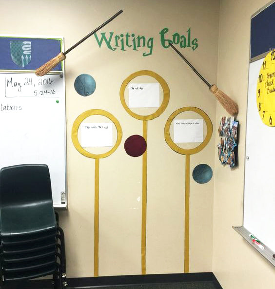 18 Harry Potter-Themed Classrooms That\'ll Blow You Away – Bored Teachers