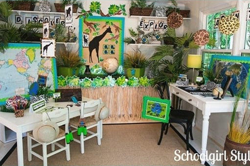 Rainforest Classroom Decoration Ideas ~ Awesome classroom themes ideas for the new school