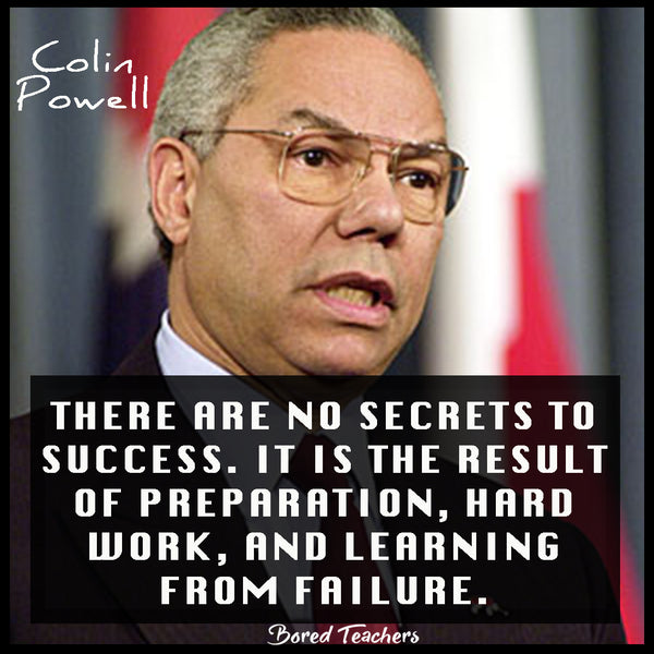 Black History Month Quotes- Colin Powell - Bored Teachers