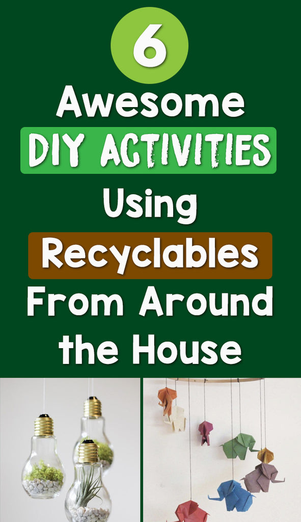 recyclable DIY activies_feature image_Bored Teachers