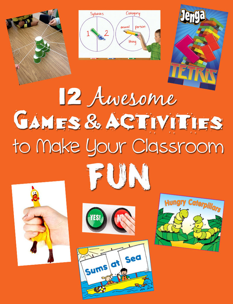12 awesome games & classroom activities bored teachers