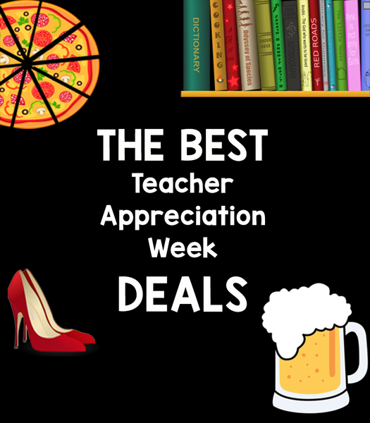 teacher appreciation week deals cover image - Bored Teachers