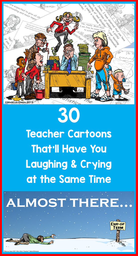 teacher cartoons_feature image_Bored Teachers
