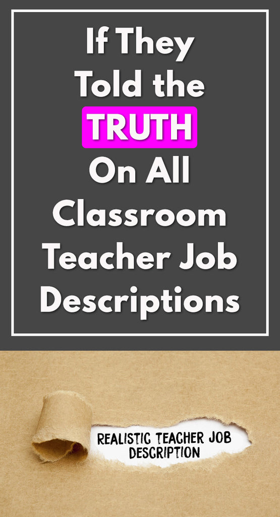 teacher job description truth_feature image_Bored Teachers