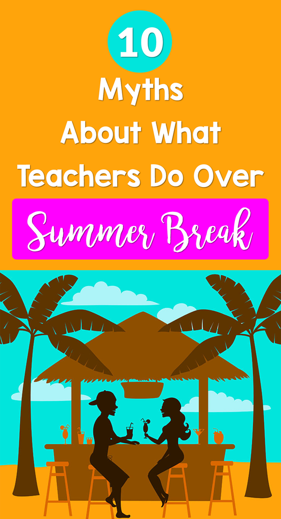 teacher myths summer_feature image_Bored Teachers
