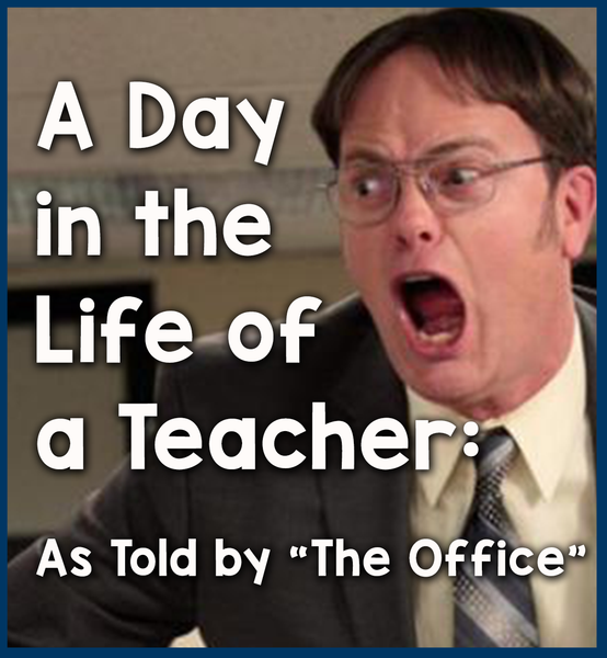 the office cover - Bored Teachers