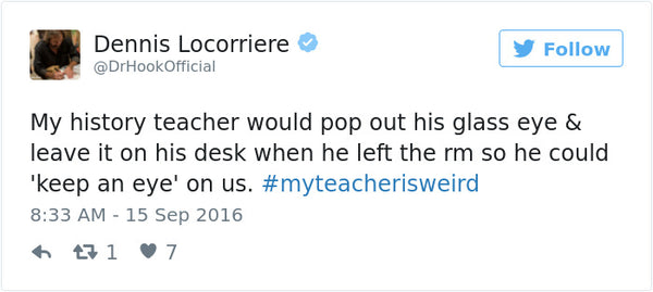 #myteacherisweird tweets bored teachers 2