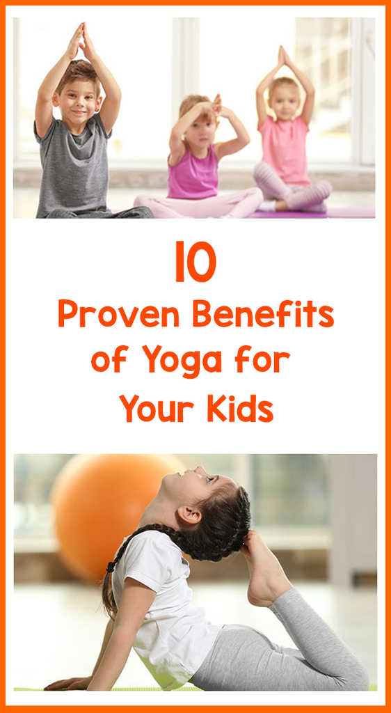 Yoga Benefits For Kids Featured Image Bored Teachers
