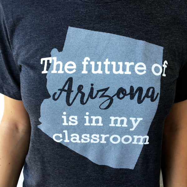 """Future of Arizona"" State Pride T-shirts bored teachers"