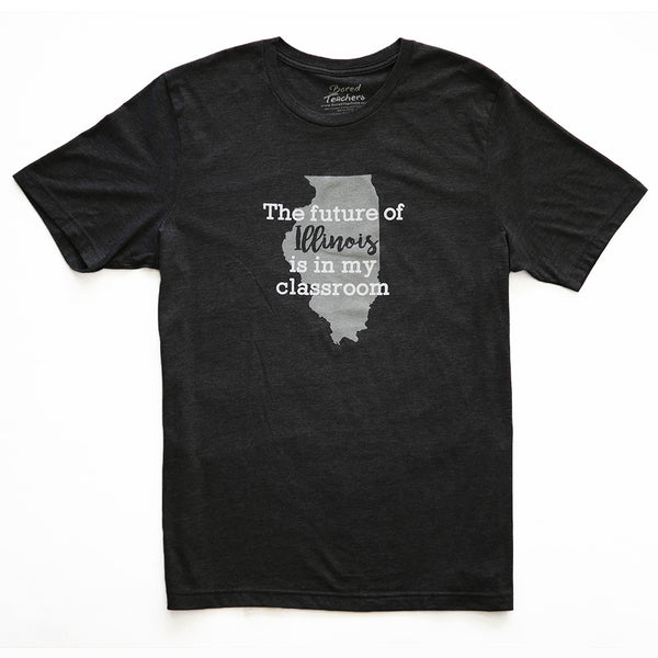 Future of Illinois t-shirt_Bored Teachers