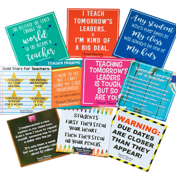 teacher magnets_Bored Teachers