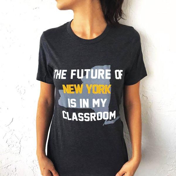 future of New York teacher t-shirt bored teachers