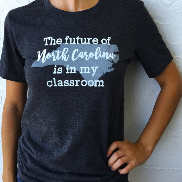 Future of North Carolina state pride t-shirt Bored Teachers