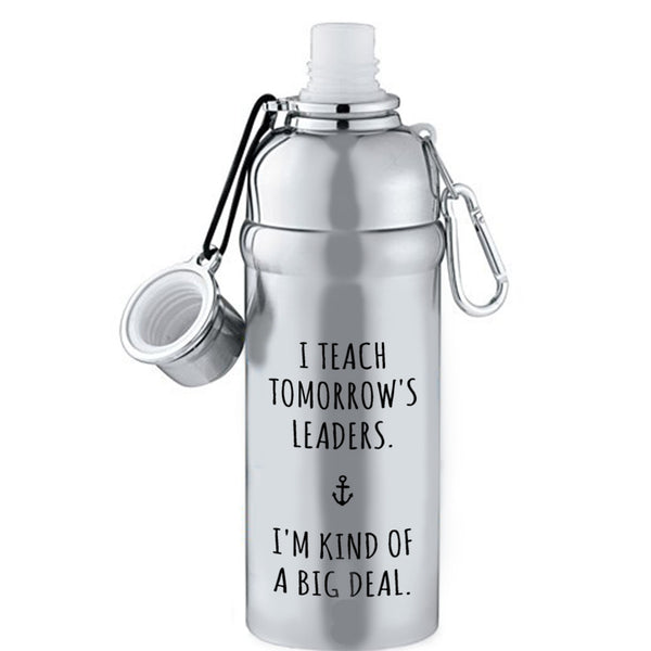 tomorrow's leaders water bottle bored teachers